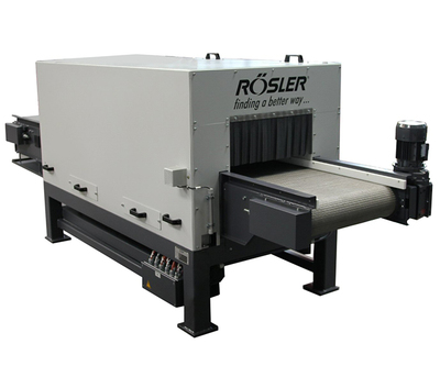 Belt Dryers are normally used for sensitive components